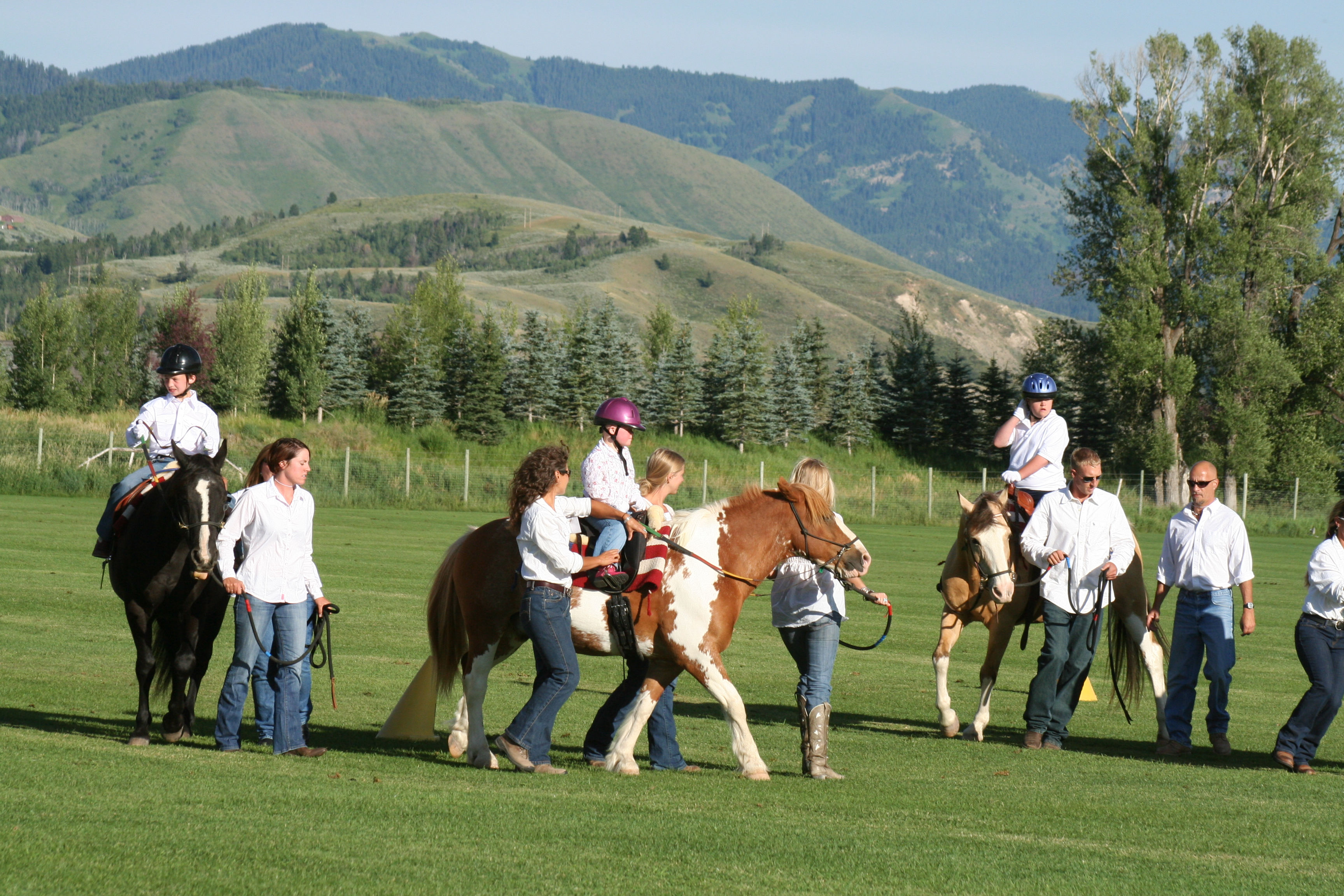 Jackson Hole Therapuetic Riding Association