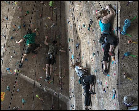 RECAP: Stout Adventures 10th Annual Climbing Competition