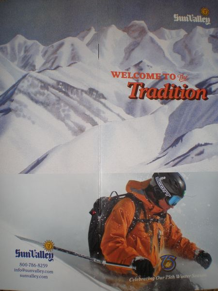 MK Ambassador, Danny Walton, Featured on Sun Valley's 75th Anniversary Brochure!