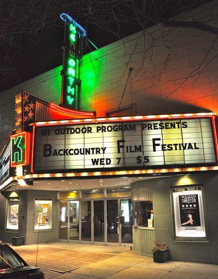 MK College Ambassador, Trevor Fulton, and the Winter Wildlands Alliance Backcountry Film Festival