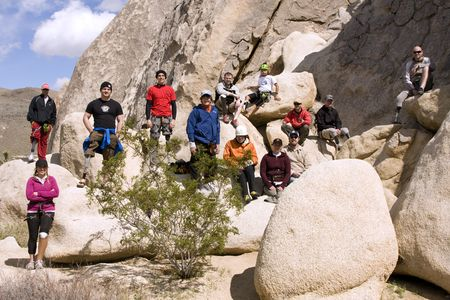 RECAP: Adaptive Climbing Clinic at Joshua Tree National Park